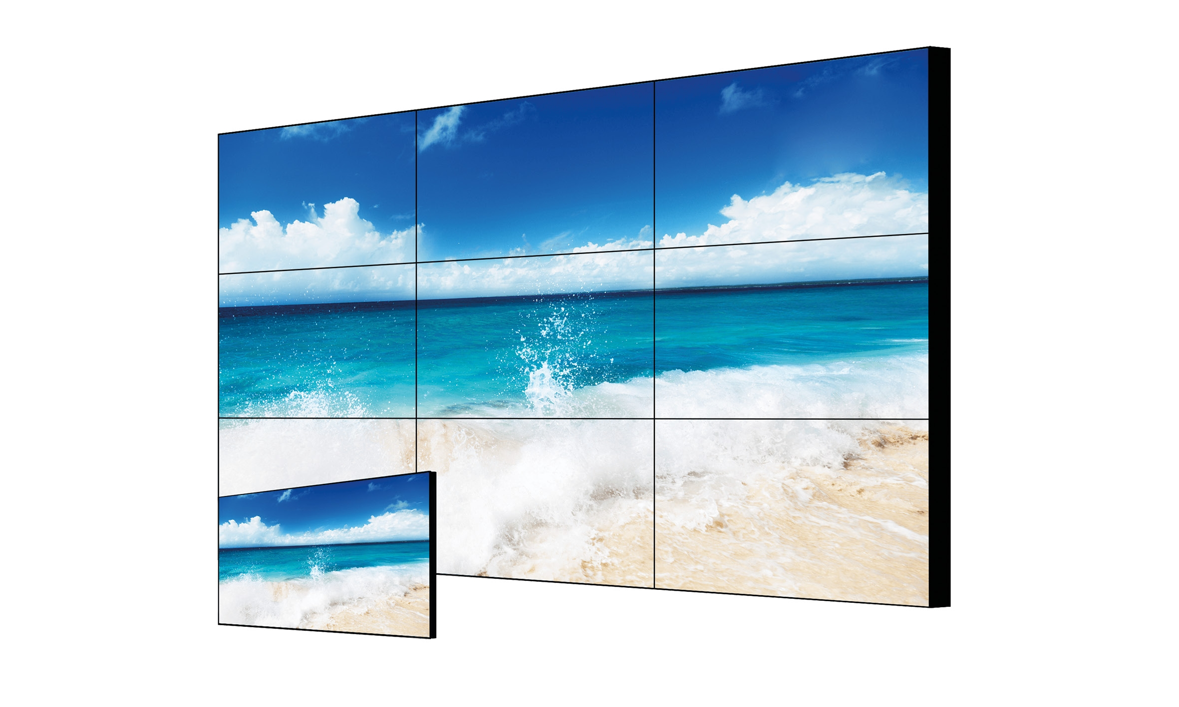 FHD Video Wall Display